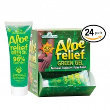 Aloe Relief™ 24pc 1oz.  POP Display